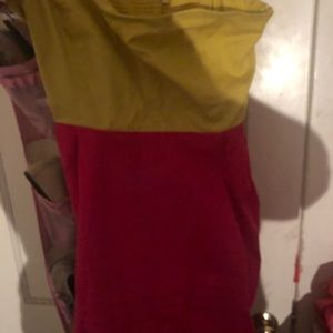 Vintage Anthropologie there color dress